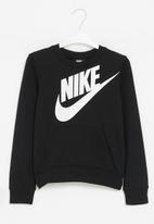 Nike - Nike futura po crew - black