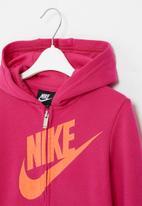 Nike - Nike futura full zip hoodie - pink