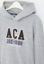 Aca Joe - Big-boys fashion sweater - grey