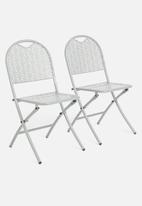 H&S - Punch folding chair - grey