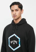 Billabong  - Access pop hood - black