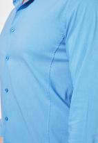 Trendyol - Roll up shirt - blue