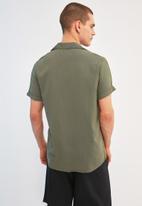 Trendyol - Buttonless shirt - khaki