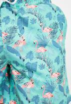 Trendyol - Printed swim shorts - mint