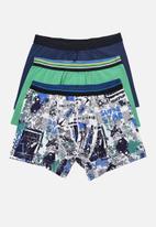 Trendyol - Printed 3 pack boxer shorts - multi