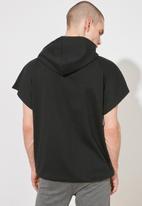 Trendyol - Zip detail sweater - black