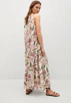 MANGO - Dress lula - light beige