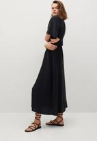 MANGO - Dress malta - black
