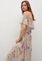 MANGO - Dress loto - multi