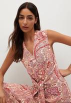 MANGO - Dresss itges - red