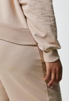 Superbalist - Crop hoodie - bark