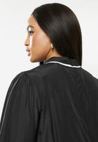 Glamorous - Plus blouse with tipping - black
