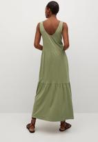 MANGO - Dress masito - khaki