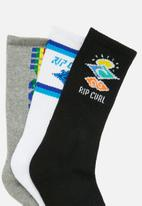 Rip Curl - Icons sock 3-pack - multi