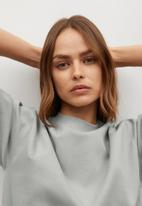 MANGO - Sweatshirt fakir - grey