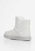 Jada - Faux fur lining ankle boot - grey