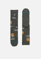 Stance Socks - Harley till i die socks - grey