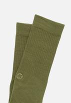 Stance Socks - Icon socks - olive