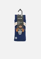 Stance Socks - Harley badge socks - navy