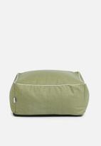 Sixth Floor - Sage floor cushion - green