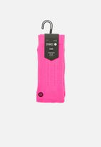 Stance Socks - Iconnop socks - neon pink