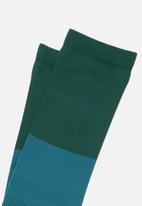 Stance Socks - Fixed crew socks - teal