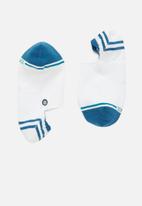 Stance Socks - Gamut socks - white & blue