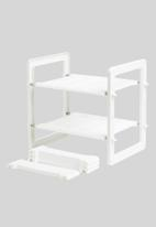 Litem - Sink organising rack - white
