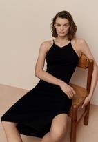 MANGO - Dress rosso - black