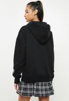 Missguided - Petite basic hoodie - black