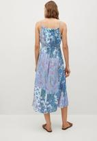 MANGO - Dress mysuru - blue