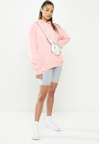 Missguided - Petite basic hoodie - blush
