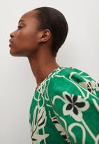 MANGO - Dress murai - green