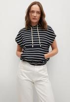 MANGO - Sweatshirt lucy - navy