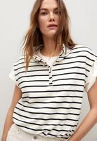 MANGO - Sweatshirt agnes - off white