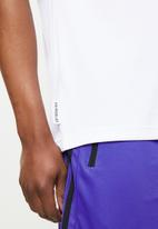 adidas Performance - Fto graphic tee - white
