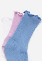 Cotton On - Kids 3 Pack crew socks - multi