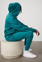 Factorie - Basic hoodie - bold teal