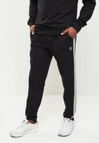 Original Penguin - Stripe fleece sweatpant - black