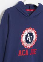 Aca Joe - Big-boys combed jersey sweater - navy