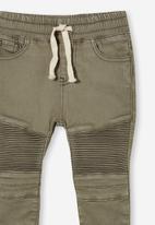 Cotton On - Jay moto jean - silver sage wash