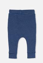 Cotton On - Patrick pant - petty blue/rainy day