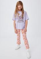 Cotton On - Francine flare pant - vanilla/newport floral