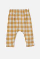 Cotton On - The legging - vintage honey/vanilla maxi gingham