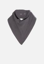 Cotton On - The bandana bib - rabbit grey
