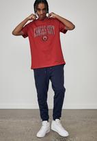 Factorie - Regular graphic T-shirt - engine red