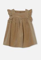 Cotton On - Twyla flutter dress - semolina