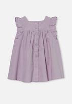 Cotton On - Twyla flutter dress - lavender fog