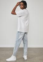 Factorie - Regular graphic t shirt - silver marle grey