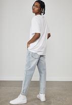 Factorie - Regular graphic t shirt - white black